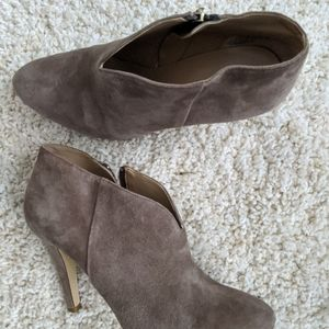 Suede ankle booties Banana Republic